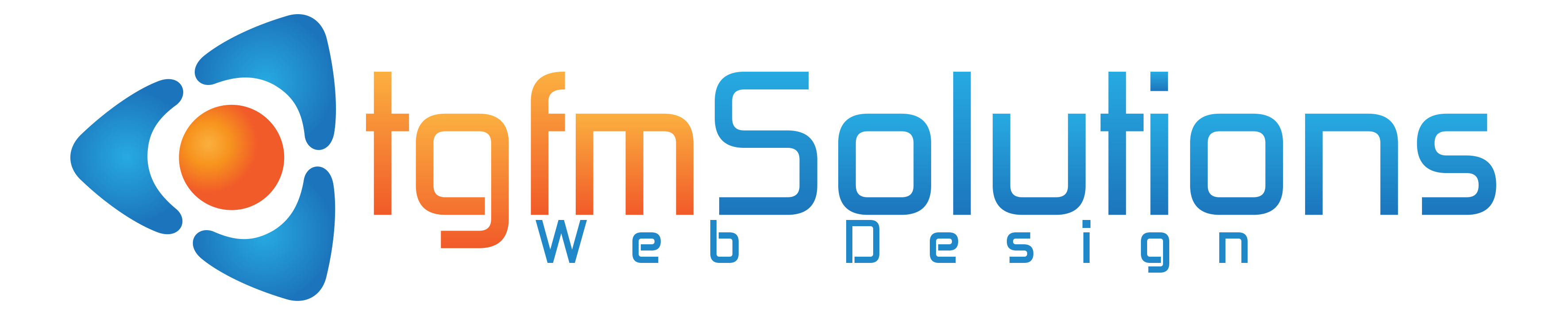 tgfmSolutions Web Design Logo